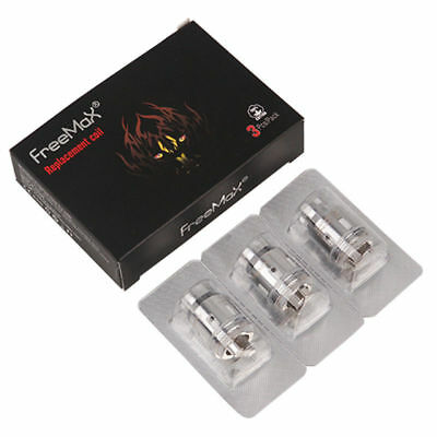 FreeMax Mesh Pro Coils FireLuke Replacement Single Triple Coil | Pack Of 3 Coils