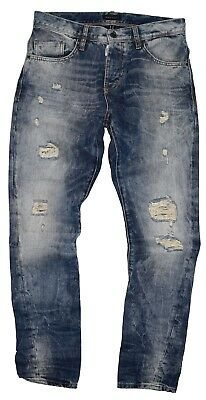 Antony Morato Denim Gold Mens Jeans MMDT00122 W00530 Distressed Size IT  46 30 56e6096fb3b