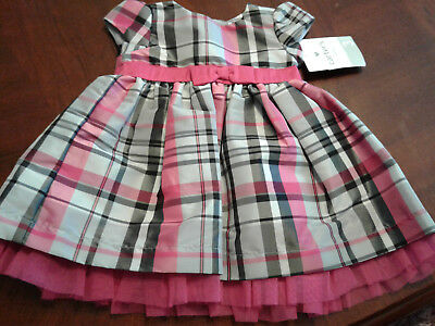 CARTERS 2 PIECE 24 month 2 yrs baby girl dress with bloomers pink