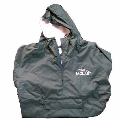Jaguar Leaping Cat Green Nylon Jacket