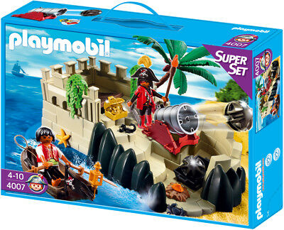Playmobil SuperSet Piratenfestung Piraten Verteidigung 4007