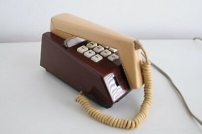 Vintage Trimphone in 2-tone Brown and Ochre Lord Snowden Designed. Needs Plug