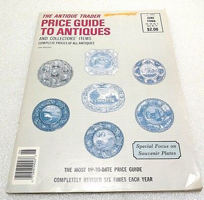 1988 The Antique Trader Price Guide To Antiques