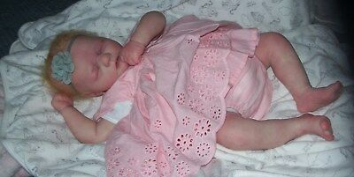 Reborn Baby Stunning True To Life Like Looking Baby  Realborn Sleeping Brooklyn
