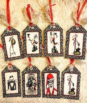 Set of 9 Hang Tags~Valentines Day~Nightmare Before Christmas Jack~Gift Tag~#301R