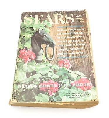 Old Vintage Sears 1962 Spring and Summer Catalog Minneapolis   As Is