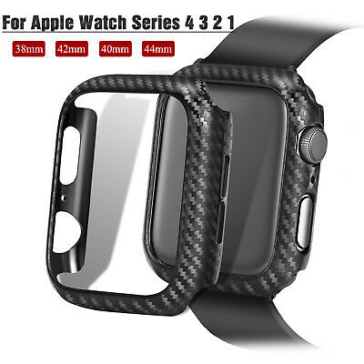 38/42/40/44mm PC Frame Protector iWatch Bumper Case Cover fr Apple Watch 4 3 2 1