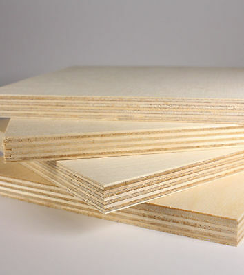 "5 pcs 5/8"" (15mm) x 12"" x 24 "" B/BB REAL Baltic Birch Plywood FREE SHIPPING!!!"