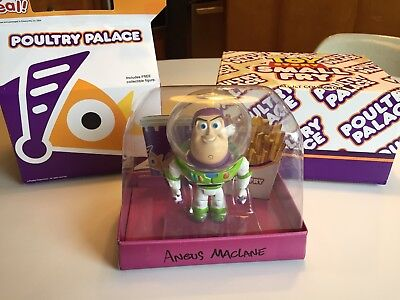 Disney Pixar Toy Story Buzz Small Fry. 2013 D23 Exclusive.  Signed by Artist.