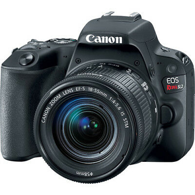 Canon EOS Rebel SL2 24.2MP DSLR Camera w/ EF-S 18-55mm f/4-5.6 IS STM Lens- DEAL