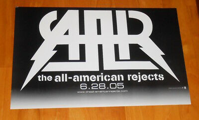 AMR The All-American Rejects Poster 2005 Promo Original 11x17