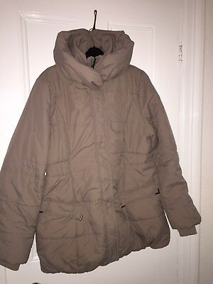 Mamalicious Maternity Coat Size L (14/16) Really Warm! Excellent Condition!