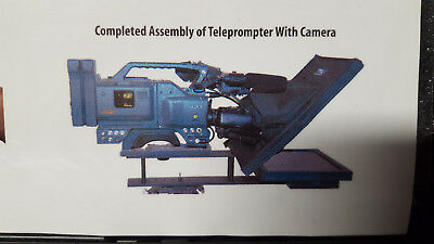 17 Inch Broadcast TELEPROMPTER by Prompter People