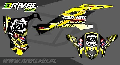 Can-Am DS 450 Graphics Decals Stickers Dekor Rival Designs
