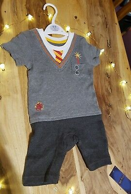 885873f8f6a 💖Official Harry Potter Baby grow romper suit Wizard in training 6-9  months💖