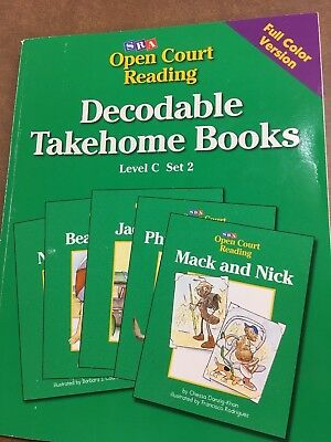 SRA OPEN COURT Reading Decodable Takehome Books Lev  C, set 2