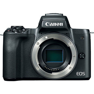 Canon EOS M50 Mirrorless Digital Camera Body with 4K Video (Black) - Great DEAL!