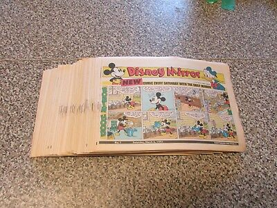 Collection Of Vintage - Disney Mirror Comics - Numbers 1 To 112 - Excellent 1991