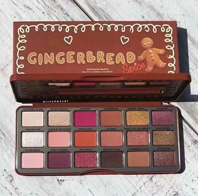 Gingerbread Spice Palette Palette De Fards À Paupières Style Too Faced En Stock!