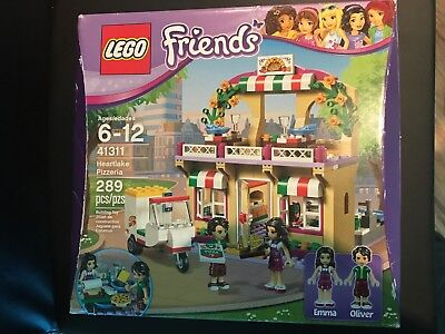 Lego 41311 Emma Heartlake Pizzeria Friends Minifigure Only New