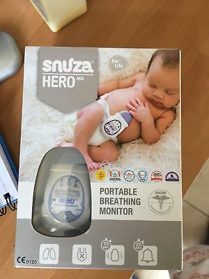*Snuza Hero MD Medically Certified Portable Baby Breathing Monitor*