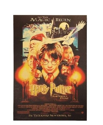 Harry Potter Magic Begin Paper Poster Vintage Wall Stickers Home Decor Placard