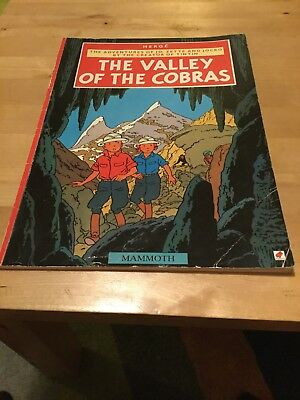 Herge The Valley Of The Cobras