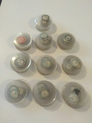Job Lot 100 Vintage Pocket Watch / Watch Glasses NOS For The Watchmaker OC30