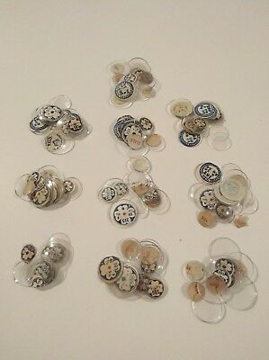Job Lot 100 Vintage Watch Glasses NOS For The Watchmaker OC44