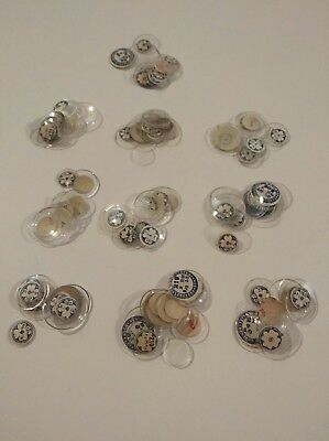 Job Lot 100 Vintage Small Watch Glasses NOS For The Watchmaker OC43