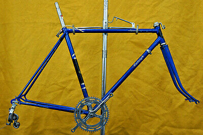 Antique Raleigh Record English Made Gravel Road Frame 27in 700c l'eroica Charity