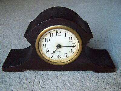 Antique Seth Thomas  8 Inch Length Mantle Style Clock.  USA.
