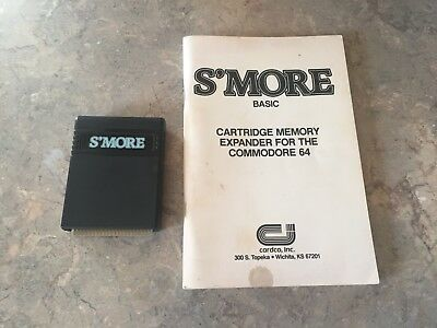 1985 Cardco Smore Memory Expansion Cartridge Commodore 64