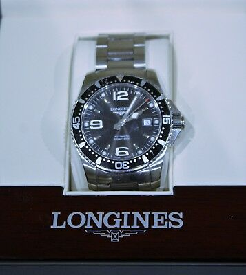Longines Hydroconquest Automatic Stainless Steel Divers Watch (L3.642.4)