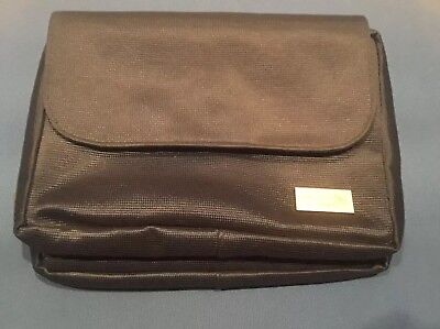 United Airlines First Class Business Class Toiletries Travel Bag w/2 Mesh Pocket