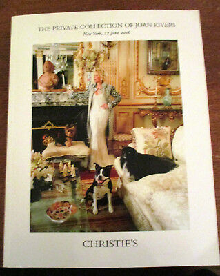 The Private Collection Of Joan Rivers Christie's Auction Catalog