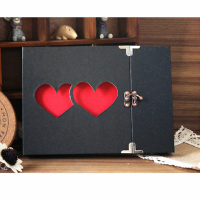 DIY Handmade Photo Album Luxury Wedding Baby Family Pictures Memory Storage US