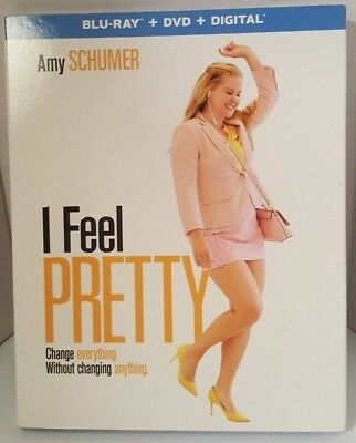 I Feel Pretty Blu-ray + DVD + Digital brand new sealed Complete! with Slipcase