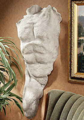 Nude Naked Man Male Torso Ancient Greek Sculpture statue replica