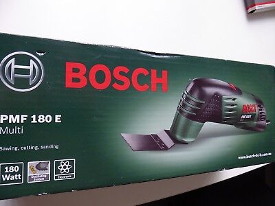 Bosch Green PMF 180E 180W Multi Tool 240V, BRAND NEW IN BOX
