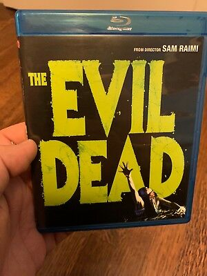 The Evil Dead [Blu-ray] by Bruce Campbell USED