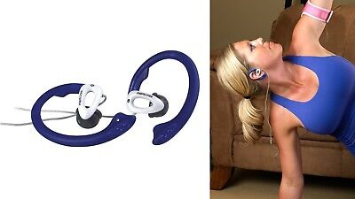 Memorex WR100 Active In-Ear Wired Sport Running Earphone Earbuds Over ear Hook