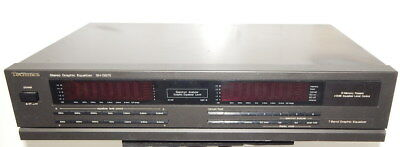 Technics SH-GS70 stereo graphic equalizer