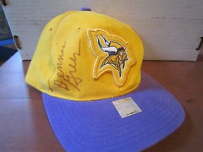 Nfl Pro Line Starter Adjustable Hat Dennis Green Vikings Autograph New a596f2940