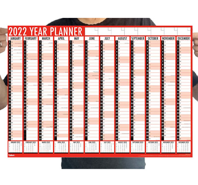 Large Print Month To View Calendar 2019 Easy View Office Spiral Bound Wall