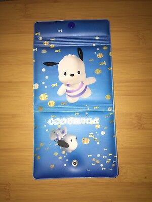 Vintage Sanrio Pochacco Vinyl Puffy Wallet From 1999 HELLO KITTY