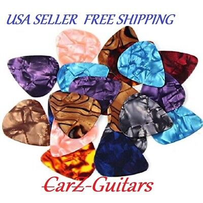 Guitar Picks 12 pk 351 STYLE CELLULOID Med. 0.51mm FREE SHIPPING