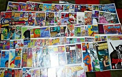 Marvel DC Misc. Lot, Bronze Copper modern age,86 comics, free shipping, B1