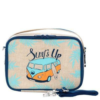 NEW So Young Insulated Lunch Bag Box Raw Linen – Surf's Up