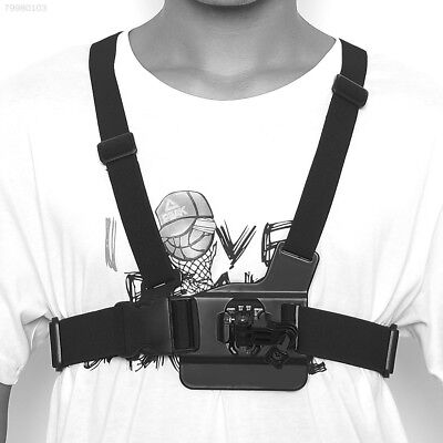 BAE3 Quality Elastic Chest Strap Mount Harness for GoPro HD Hero 2 3 Cam Camera